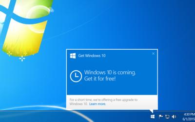 Help!  Unwanted Windows upgrade
